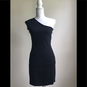Zara One Shoulder Dress